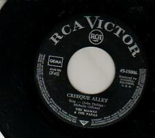 JUKEBOX SINGLE 45 MAMAS & PAPAS CREEQUE ALLEY 7 ""