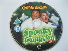 THE CHUCKLE BROTHERS in SPOOKY GOINGS ON  LIVE  {DVD}