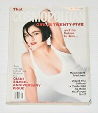 Cosmopolitan Magazine 25th ANNIVERSARY May 1990 MADONNA Cover