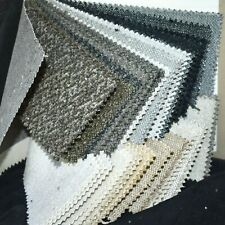 Fabric Sample Book Gray Black Eggshell Taupe Chenille Solids Plush Soft 40pc Lot
