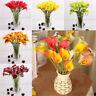 10Pcs Artificial Latex Calla Lily Flower Bouquet Home Wedding Bridal Decor AK
