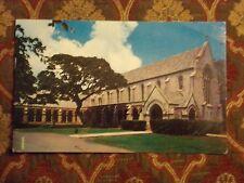 Vintage Postcard Parke Memorial Chapel, St. Andrew's Cathedral, Honolulu, Hawaii
