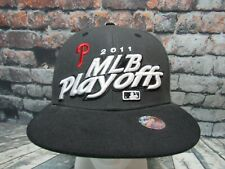 Philadelphia Phillies 2011 MLB Playoffs Postseason 47 Brand Snapback Hat Cap