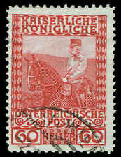 Scott # 122 - 1908 - ' Franz Josef '