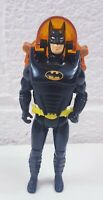 Rare DC Comics Superheroes Batman Figure with Grappling Rope and Vest Pack