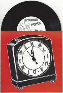 """Alkaline Trio/Smoking Popes """"New Year's Evil"""" 7"""" OOP The Lawrence Arms Blink 182"""