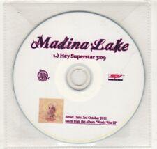 (HN759) Madina Lake, Hey Superstar - 2011 DJ CD