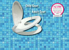 NEW Lupi Lu Dual Toilet Seat for the whole family Adult & Child Seat in One