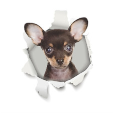 3D Cute Dog Toilet Lid Cover Wall Sticker Decal Bathroom Home Decal