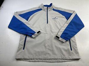 Footjoy FJ Men's 1/4 Zip Pullover Golf Long Sleeve Windbreaker Jacket Size Large
