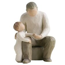 New & Boxed Willow Tree Figurine Baby Child 'Grandfather' #26058 Gift