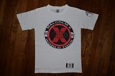 ORIGINAL 1991 Malcolm X SPIKE LEE t shirt vtg 90s hip hop 40 acres movie S/M