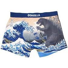 Godzilla Men's underwear Boxer Brief size:M Hokusai Collaborated Cool