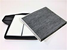 AIR FILTER & CARBONIZED CABIN FILTER COMBO FOR 2013 - 2016 NISSAN ALTIMA 2.5L