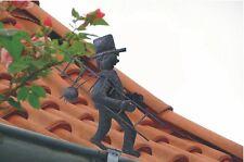 Schornsteinfeger Dachrinnenfigur Dekoration Dachschmuck Gartendekoration Figur