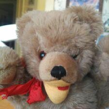 Rare  Antique Vintage 1950s Baki Teddy Bear Zotty Type Germany 13in EUC