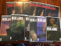 Redlands Comics #1-12  Image Complete Set Near Mint