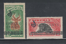 Liberia # O111-12 MNH Fauna Bongo Antelope Civet