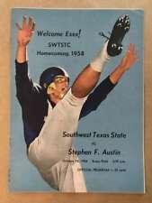 STEPHEN F. AUSTIN ST UNIV @ SOUTHWEST TEXAS ST  COL COLLEGE FOOTBALL PROGRAM  19