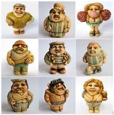 Lot B of 9 x People Oddbods - NIB - Hard Body Figurines - MPS Harmony Kingdom