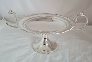 Antique sterling silver Compotier / Tazza. Sheffield 1911. By Lee & Wigfull