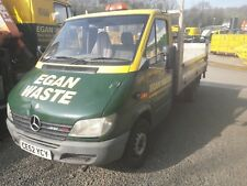 Mercedes Sprinter 308 Dropside with Tail Lift