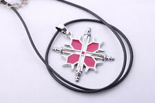 Vampire Knight Cosplay Costume Cross Swords Emblem Pendant Necklace