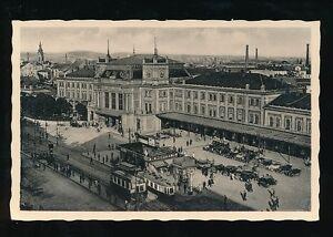 Austria BRUNN Bahnhof Railway Station 1941Feldpost use RP PPC