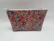 HANDMADE OILCLOTH COIN PURSE - LIBERTY EMMA AND GEORGINA C FABRIC