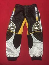THOR MOTOCROSS Pants Style 1210 Size 30 Phase 3.0 Black Silver Yellow NICE