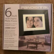 "Pandigital 6"" LCD Photo Frame 128MB with Remote - New in box"