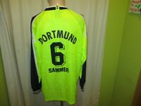 Borussia Dortmund Nike Langarm Meister Trikot 1995/96 + Nr.6 Sammer Gr.XL