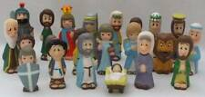 Bible Story Finger Puppets from Bible Stars Series 22 Pieces Vintage 1980's