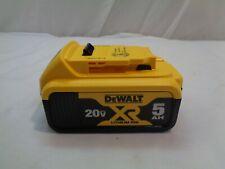 Dewalt 20V Max Xr Brushless 5Ah Battery ( New) Model # Dcb205
