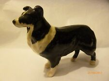 BESWICK BLACK AND WHITE BORDER COLLIE SMALL DOG GN