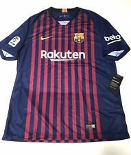Nike Barcelona FC 2018 Home Jersey Blue Red 894430-456 Men's Size XL