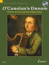 Turlough O'Carolan's Dream 15 Pieces For Flute Violin Piano Book Cd NEW!