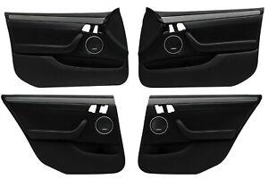 Used Holden Statesman Caprice WM Leather Door Trim Set 51i Onyx Black 92223562