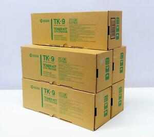 5 x KYOCERA TK-9 Original Toner Kit FS-1500/FS-1500 A FS-3500/FS-3500 A NEU OVP