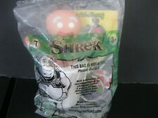 "Shrek   ""Gingy Milk Shakin Keychain""  NIP McDonald's 2001"