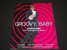 1999 JUNE PULSE MAGAZINE - AUSTIN POWERS FRONT COVER - O 7672