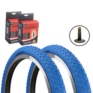 """20"""" x 1.95"""" BLUE BMX Comp 3 Tyres TYRES AND TUBE DEAL OPTIONS by VANDORM"""