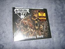 ASPHYX-INCOMING DEATH bolt thrower,autopsy,benediction 2016 DIGI PACK W/2 BONUS!