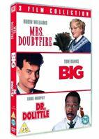 Mrs. Doubtfire / Big / Dr. Dolittle Triple Pack [DVD] [1988][Region 2]