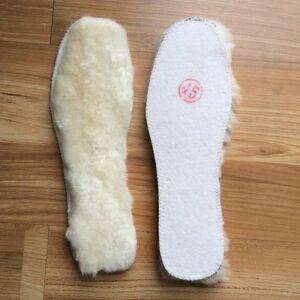2Pairs/Lot Australia's sheepskin wool insole fur sheepskin insole
