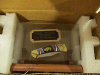 "David Yellowhorse ""SACRED BUFFALO"" Buck 112 Knife & Wooden Stand & Factory Box"
