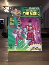 mighty morphin power rangers karate action kimberly 8 Inch Original 1994