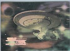 Star Trek TNG Seasons Seven Hologram Chase HG14 - USS Enterprise Skybox 1999