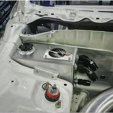 SpeedFactory Angled Oil Catch Can/Coolant Overflow Tank 92-95 Honda Civic EG