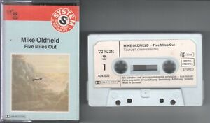 Mike Oldfield    MC / Tape / Kassette   FIVE MILES OUT   ©  1982